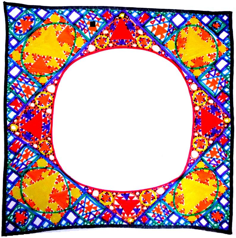 Math Medallion Gasket Frame – www.MarekBennett.com