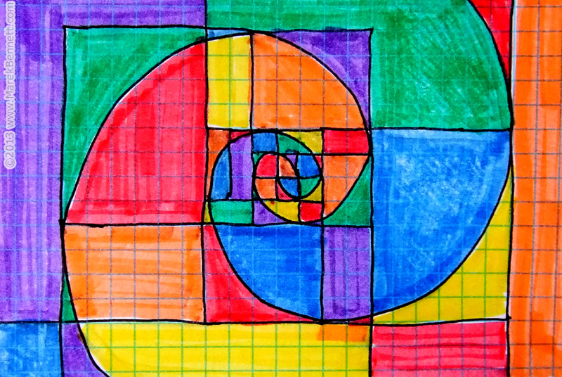 Fibonacci Sequence In Art Twin Fibonacci ...