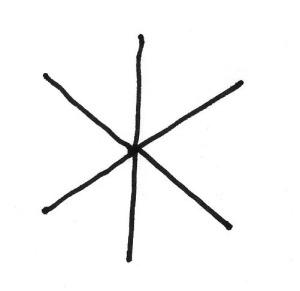 Snowflake-SixCircle-Step1