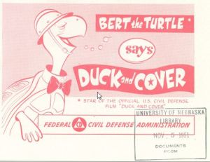 Bert the turtle says duck and cover 01 __ Government Comics