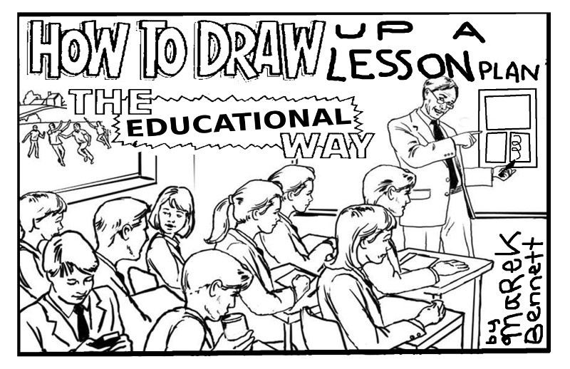 How To Draw Up A Lesson Plan Www Marekbennett Com