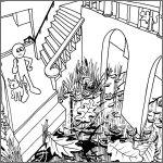 Escher-Courtyard_DETAIL2-(c)2014-www_MarekBennett_com