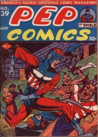 PEP Comics #39 (May 1943) COVER
