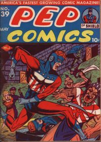PEP Comics #39 (May 1943) COVER